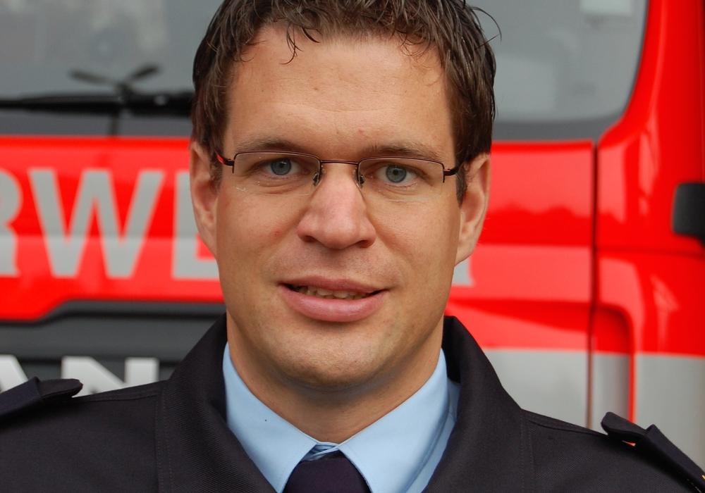 Torge Malchau wird neuer Fachbereichsleiter. Foto: Feuerwehr Braunschweig