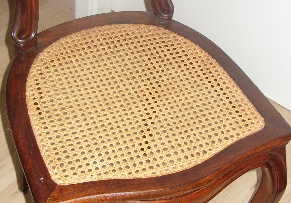 Stuhl mit Wiener Geflecht. Foto: privat