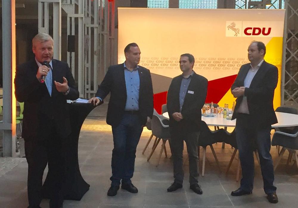 CDU-Spitzenkanditat Dr. Bernd Althusman besuchte Braunschweig. Fotos: CDU-Braunschweig-