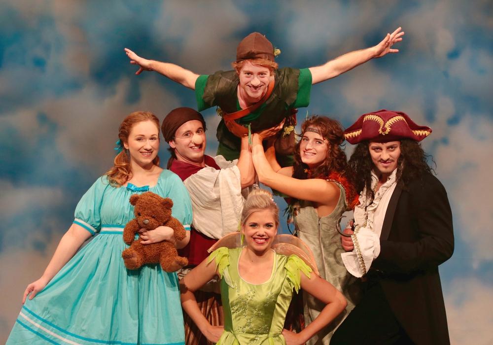 Das Nimmerland ruft, Peter Pan im Brunnentheater. Foto: Daniela Landwehr