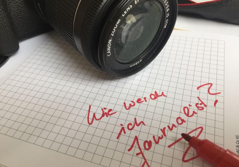 Am 23. November informiert das BIZ über den Beruf des Journalisten. Symbolfoto: Anke Donner