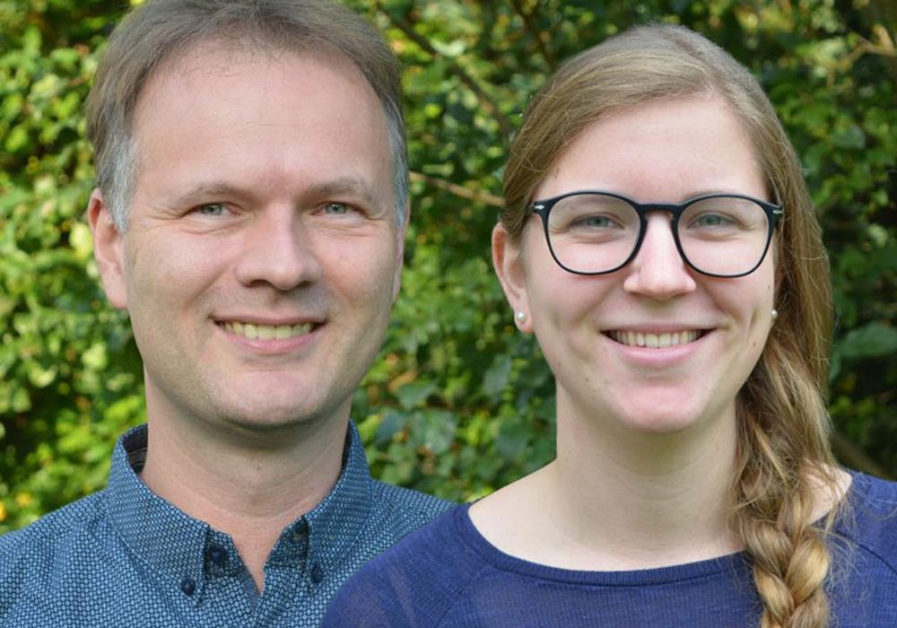 Carlotta Seidlitz und Ulrich Schön verstärken das Team für die Arbeit mit Kindern und Jugendlichen. Fotos: Kirchenkreis Peine