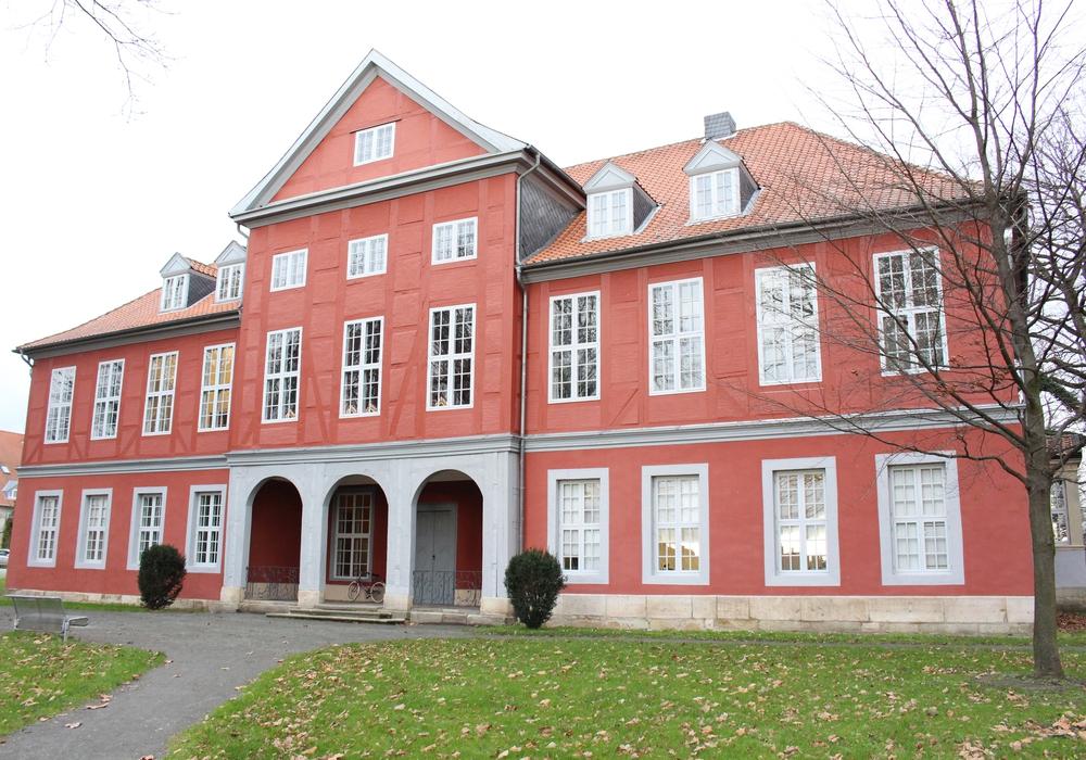Im Herrenhaus Sickte kann man sich anmelden. Foto: Archiv/Max Förster