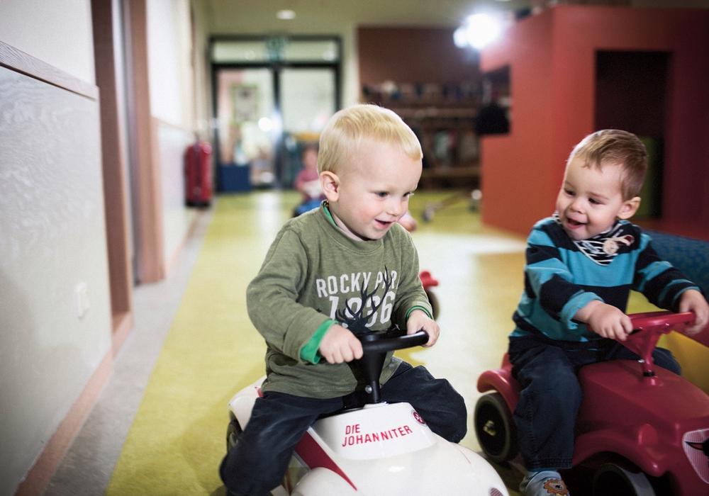 Die Johanniter geben Tipps, wie die Eingewöhnung in der Kindertagesstätte richtig klappt. Foto: Frank Schemmann /Johanniter