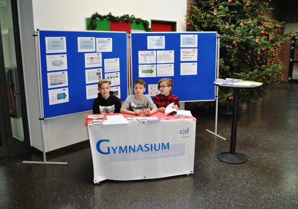 Am 7. Dezember findet der Tag des offenen Klassenzimmers statt. Foto: Christophorus-Gymnasium