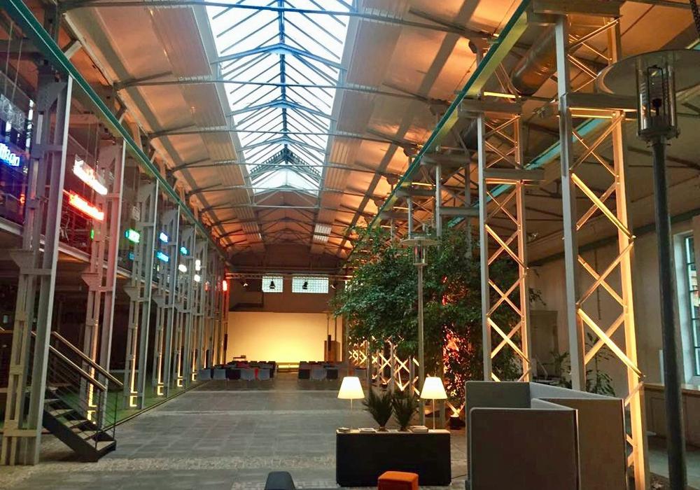 In den Wichmannhallen soll ein Digital Hub entstehen. Foto: TRAFO Hub GmbH
