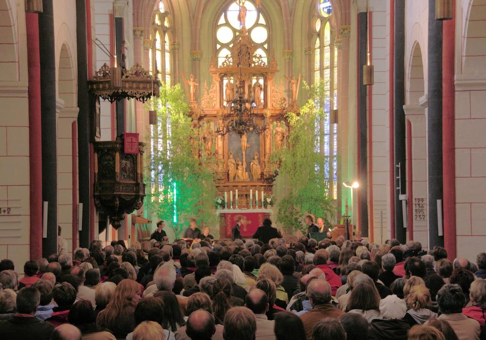 In der Marktkirche wird es an Pfingsten Konzerte geben. Foto: Kirche