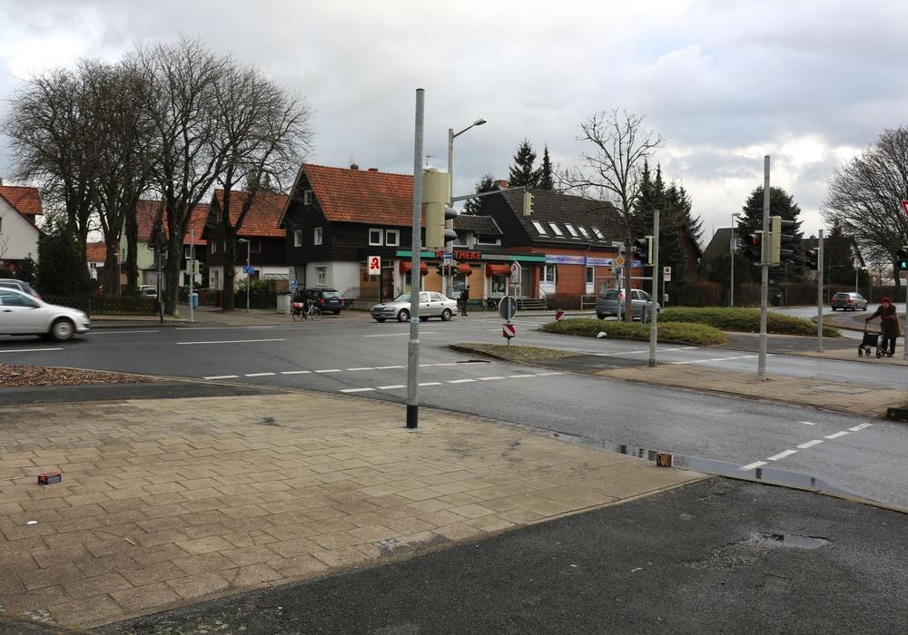 Die Kreuzung Bevenroder Straße/ Essener Straße. Archivfoto: Robert Braumann