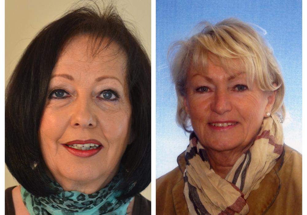 Birgit Vogler und Marita Braun. Fotos: CDU