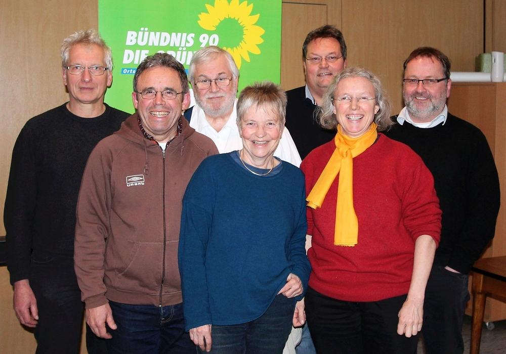 Sie gestalteten den Grünen Dialog in Sickte (von links): Holger Barkhau, Karlheinz Pfeiff, Michael Ratzkowsky, Christiane Wagner, Michael Boos, Irmela Wrede, Simon Thamm