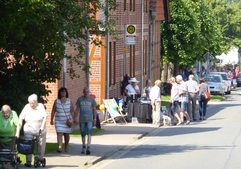 So war der Schliestedter Dorf- und Reiterflohmarkt. Foto: Privat