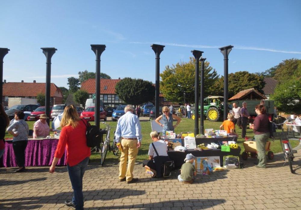 Beim Flohmarkt wird wieder ein geschäftiges Treiben erwartet. Foto: Archiv CDU Schladen