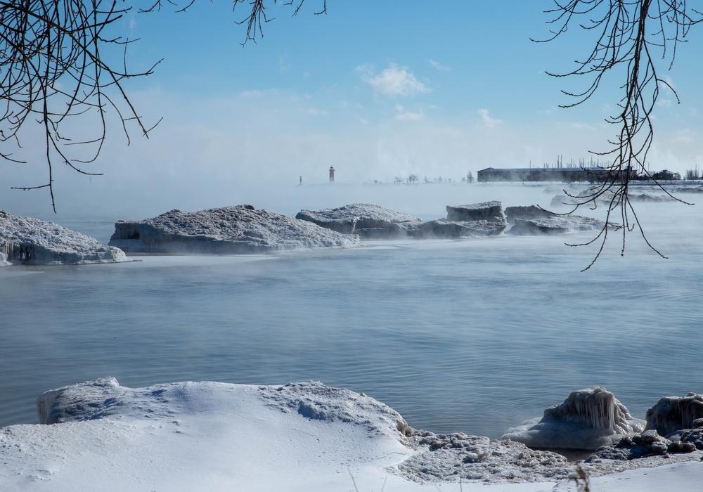 Kenosha liegt direkt am Lake Michigan. Im Hintergrund sieht man eines der Wahrzeichen von Wolfenbüttels Partnerstadt - das Lighthouse. Foto: Jens Wisse