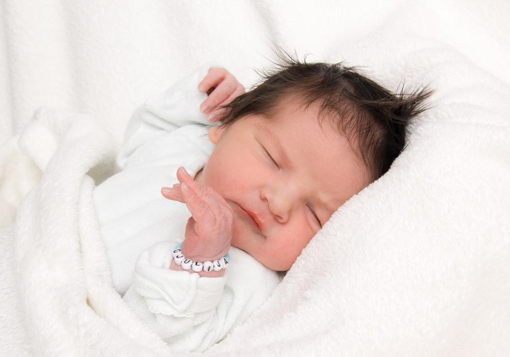 Herzlich Willkommen, Malik. Foto: Karen Sierigk, Städtisches Klinikum