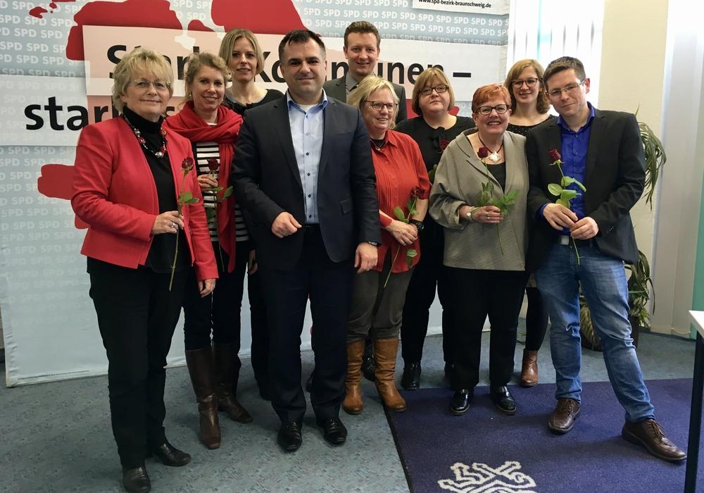 Der neue Vorstand des SPD Unterbezirk Braunschweig. Fotos: SPD