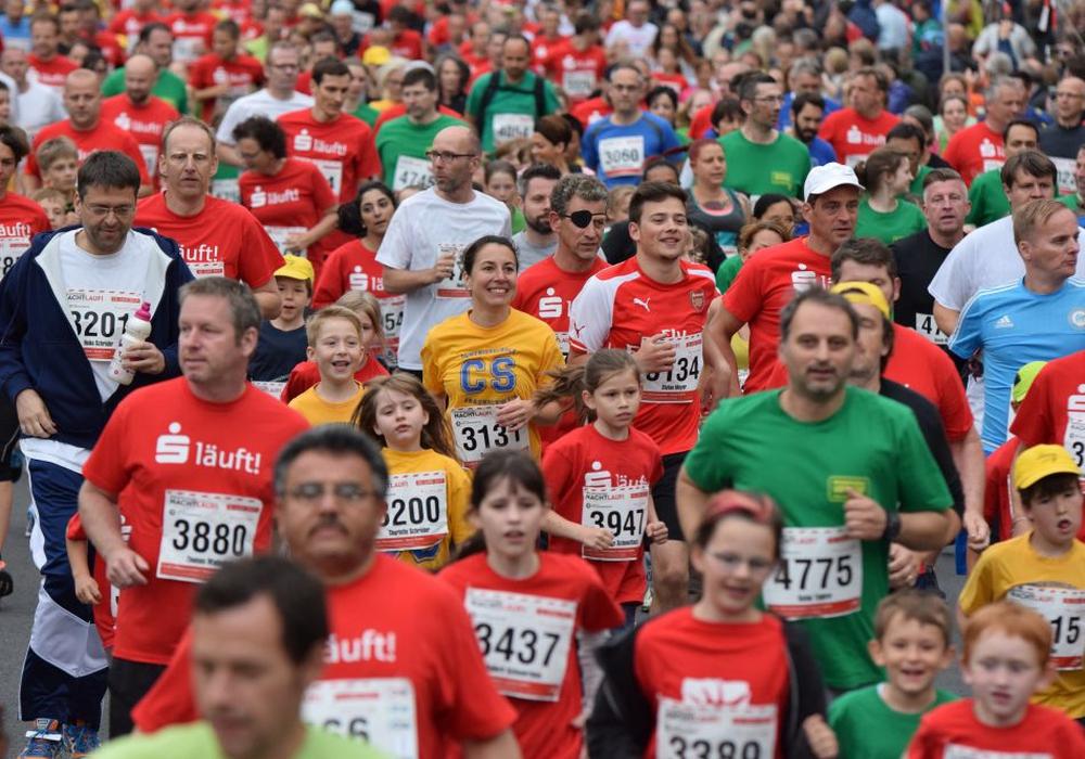 Am Freitag startet das größte Laufevent der Region zum 32. Mal. Foto: Moritz Eden