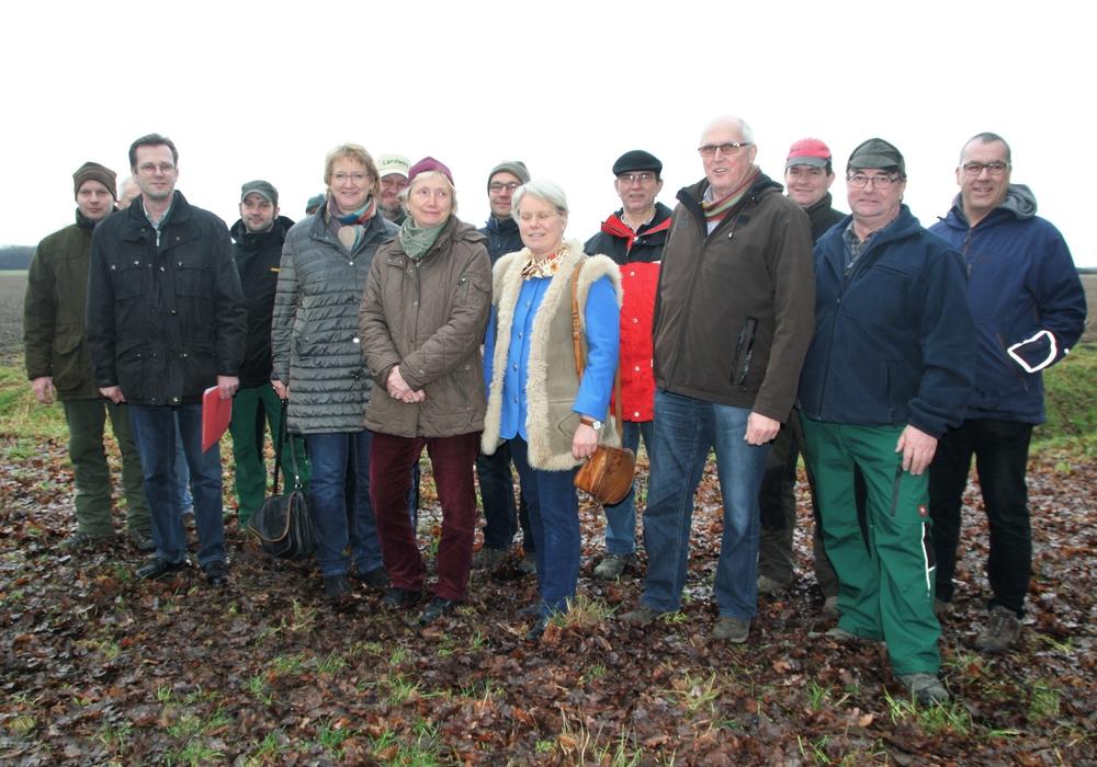 Im Februar traf sich Ingrid Pahlmann mit möglicherweise Betroffenen in Schwicheldt. Foto: Büro Pahlmann