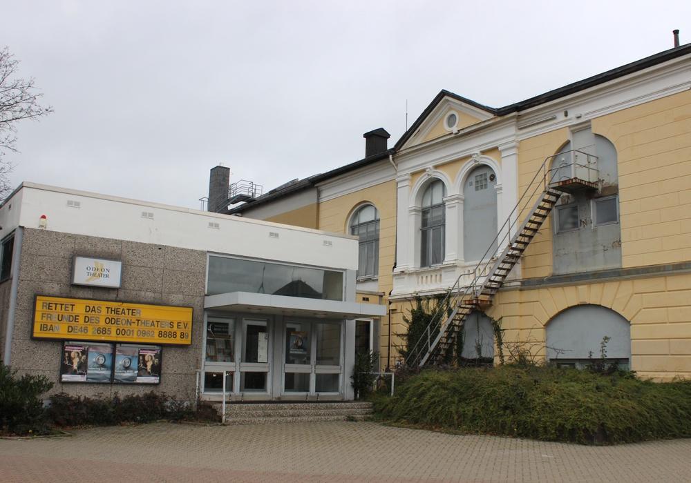 Das Gebäude des Odeontheaters soll abgerissen werden, wenn sich kein Investor findet. Foto: Anke Donner