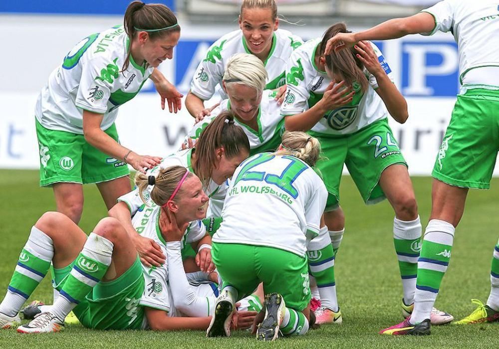 So sah der Jubel nach dem gewonnenen Halbfinale im letzten Jahr aus. Foto: Agentur Hübner/Archiv