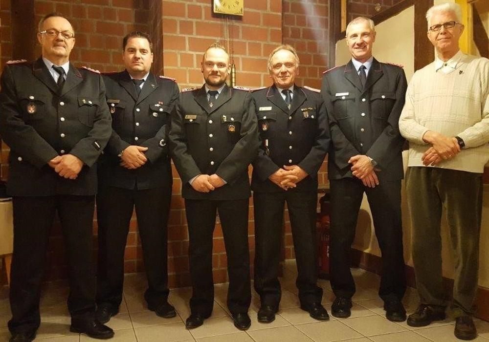 V.l.: Detlef Bohn, Markus Kauna, Björn Biehl, Detlef Biehl, Torsten Dorstewitz und Gerd Kracht. Foto: Privat