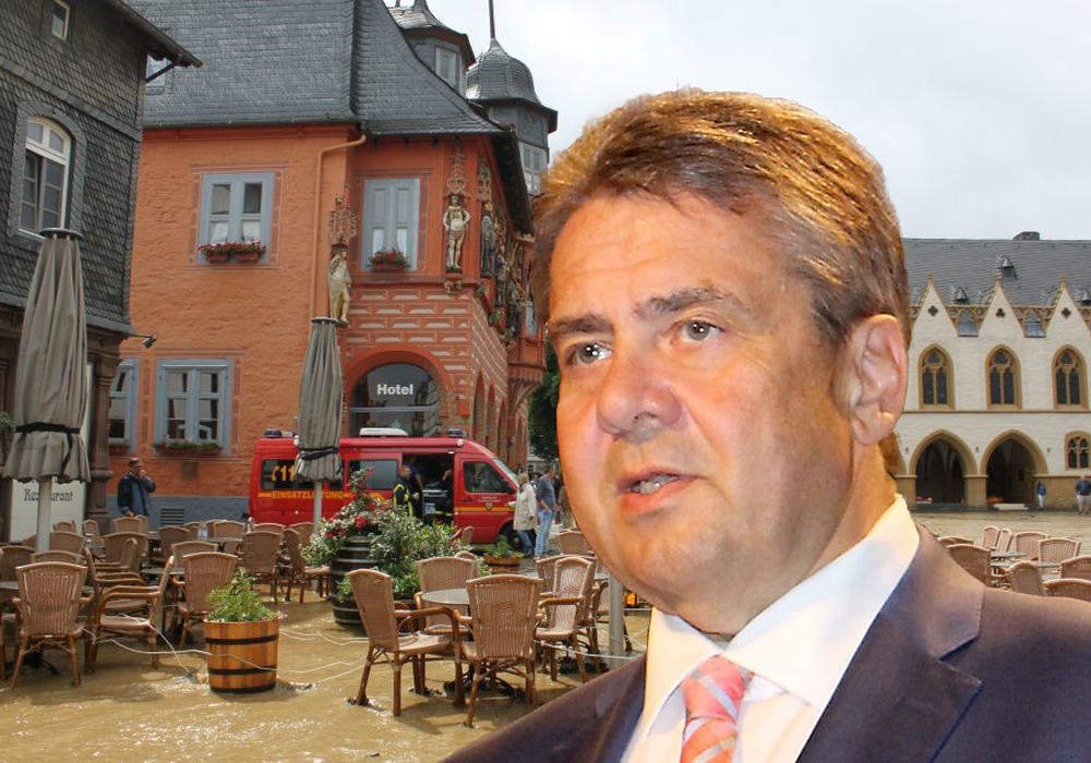 Goslar soll Hilfe bekommen nach der Flut. Foto: Landkreis Goslar; Nick Wenkel