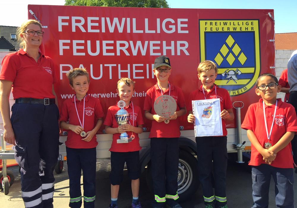 Die kleinen großen Sieger von der Kinderfeuerwehr Lamme. Fotos: Freiwillige Feuerwehr Braunschweig, Jens Lehmann