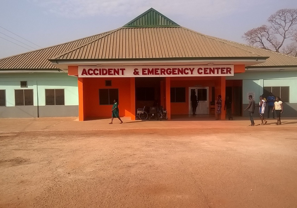 Das Holy Family Hospital in Techiman (Ghana). Foto: Evangelische Stiftung Neuerkerode