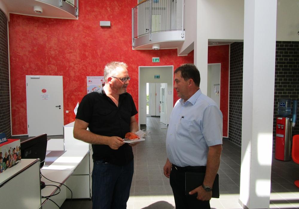 Thomas Stoch mit Uwe Lagosky, MdB
