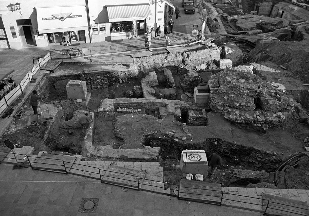 Ein ähnlicher Vorfall wie in Wolfenbüttel: Bei Bauarbeiten wurden in Regensburg die Überreste einer Synagoge entdeckt. Foto: Stadt Regensburg