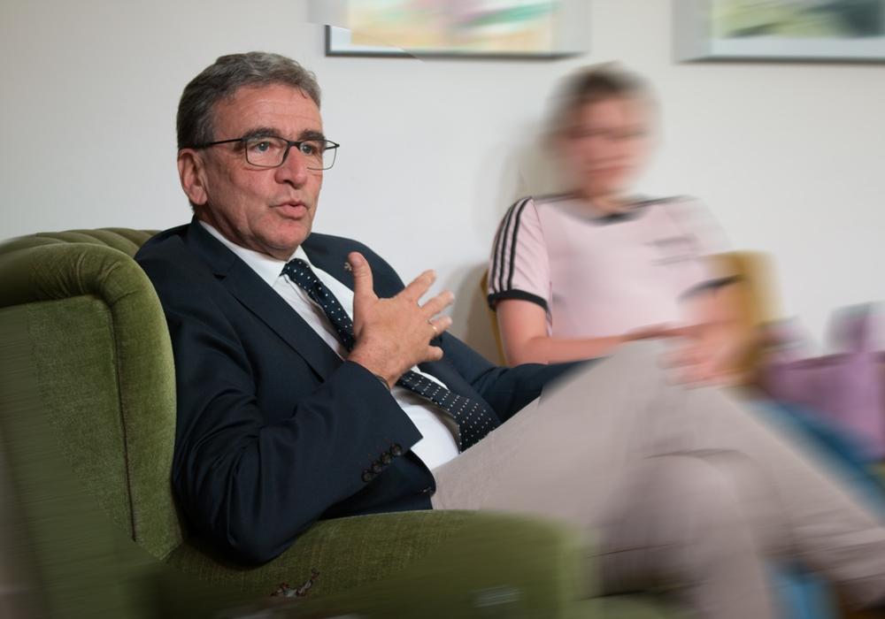 Wolfenbüttels Bürgermeister Thomas Pink. Archivfoto: Wener Heise