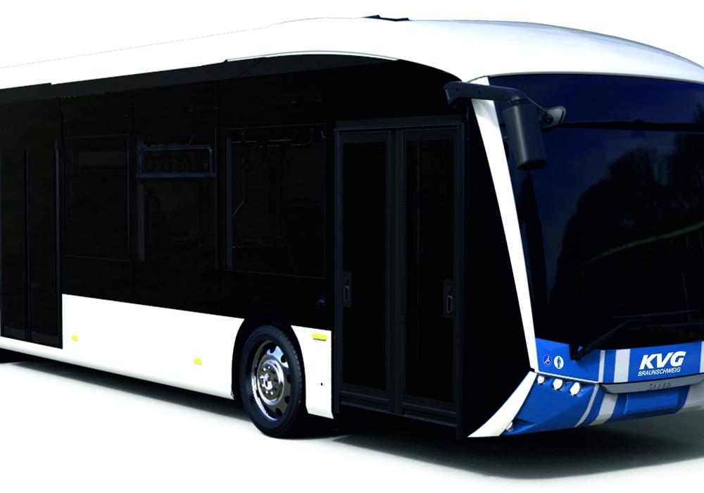 So werden die neuen Sileo-Elektrobusse für die KVG aussehen. Bildnachweis: Sileo.