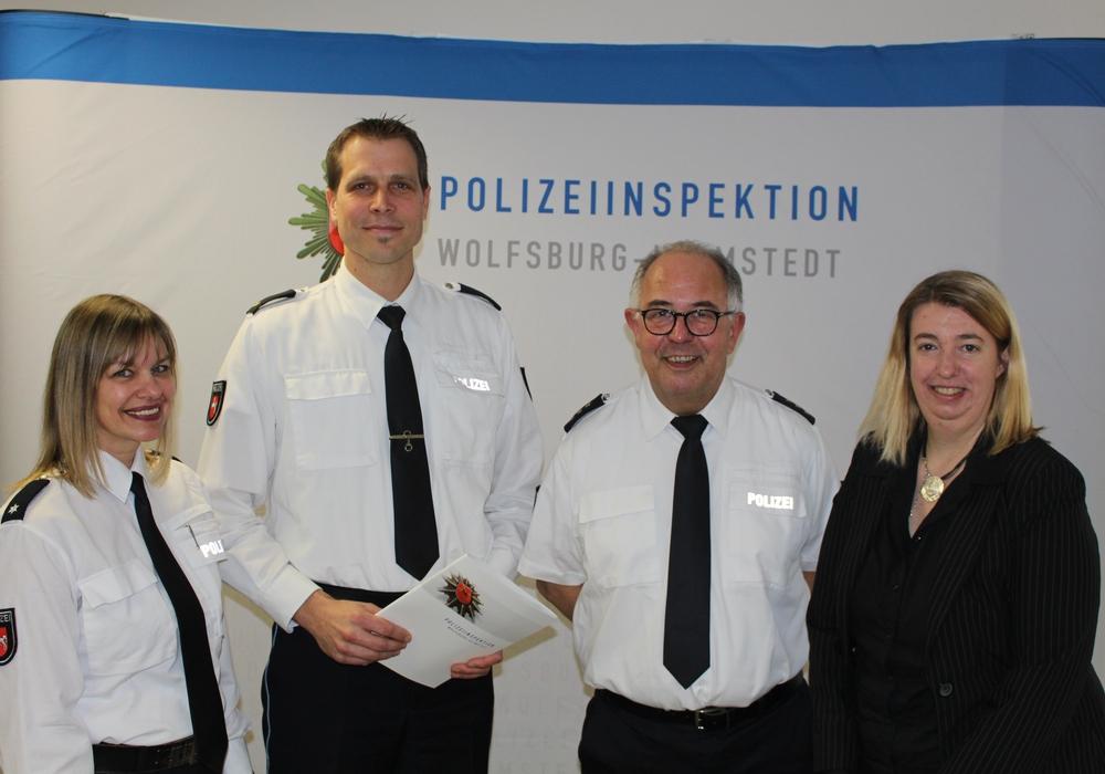 Die Polizeiinspektion Wolfsburg stellte die Unfallstatistik vor. Foto: Bernd Dukiewitz