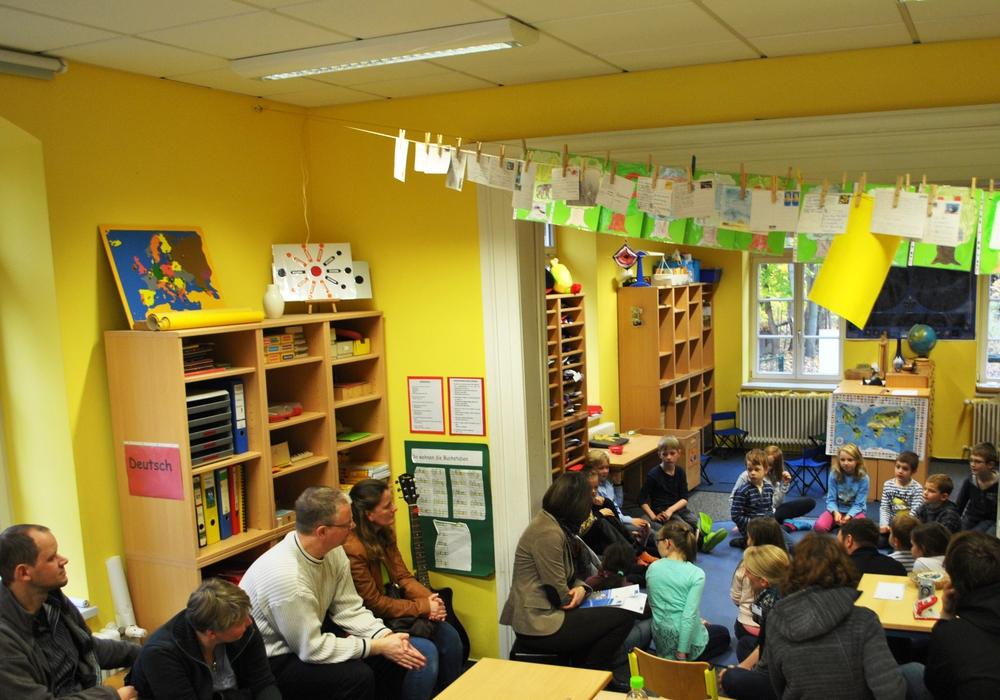 Am Freitag findet an der Hans-Georg-Karg-Schule, ein Tag des offenen Klassenzimmers statt. Foto: Privat