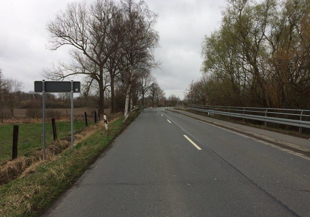 Fahrbahn über die Brücke Kleine Aller. Foto: Stadt Wolfsburg