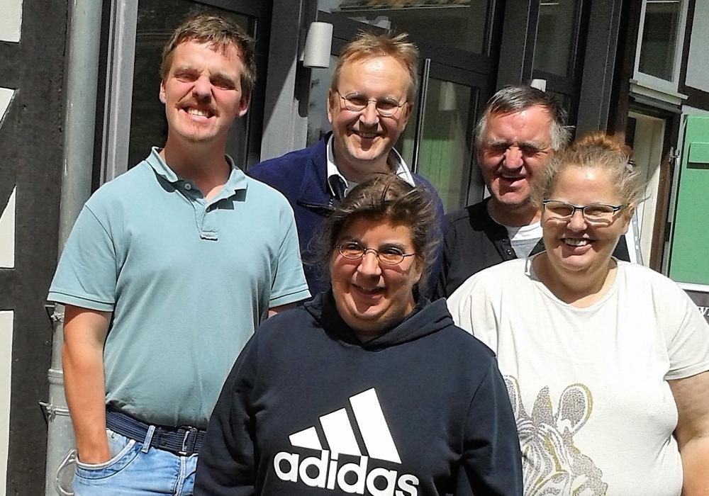 Die Besuchergruppe der Lebenshilfe Goslar mit Organisator Jürgen Niebuhr (2. v. l.) im Gärtnermuseum. Foto: Museum