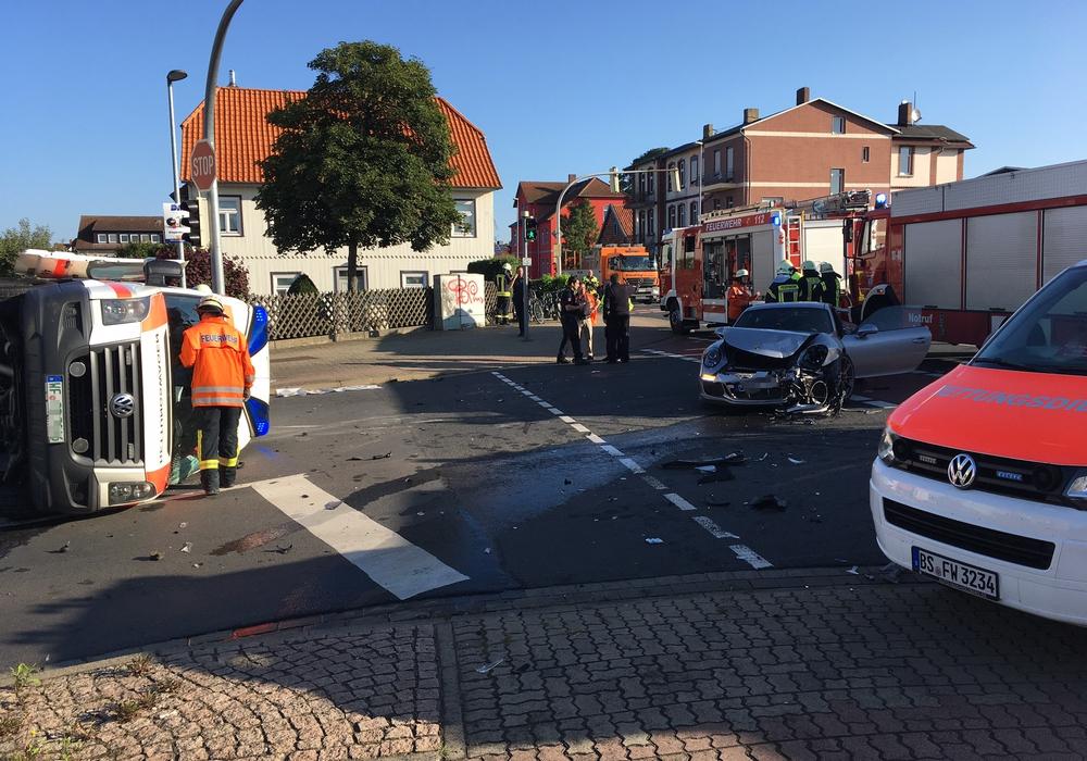 Im August ereignete sich ein Unfall mit einem beteiligten Rettungswagen in der Nähe des Klinikums. Foto: Archiv/Alexander Dontscheff