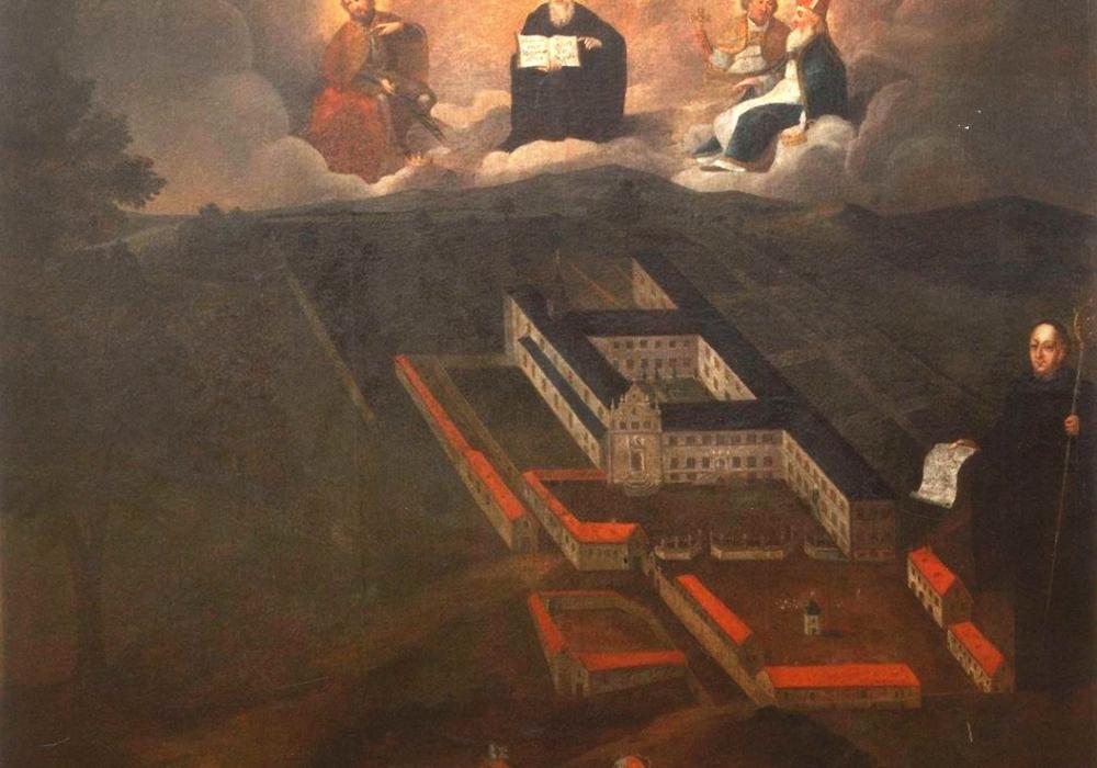 Kloster um 1720. Bild: Städtisches Museum Schloss Salder