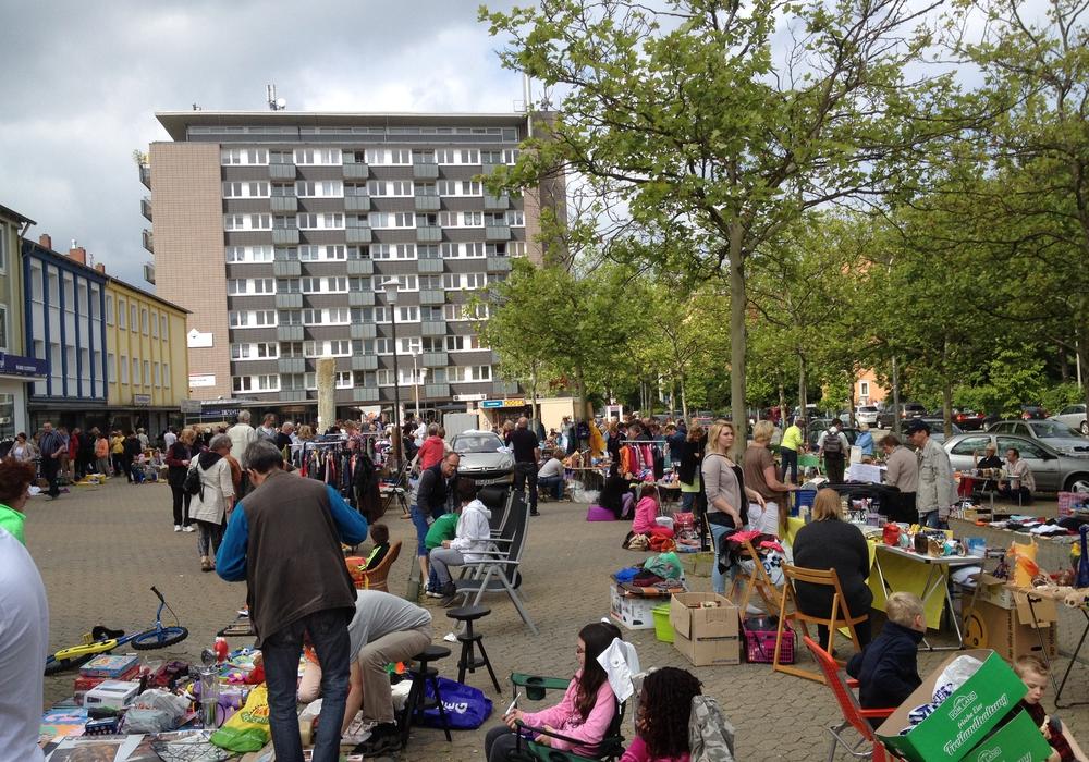 Am 10. Juni findet wieder der Flohmarkt des tadtteilverein Jürgenohl / Kramerswinkel statt. Archivfoto: Anke Donner