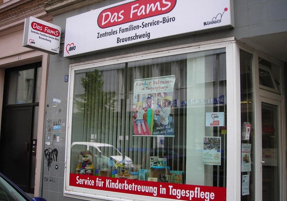 """Zentralen Familien-Service-Büros Braunschweig (""""Das FamS"""") in der Innenstadt. Foto: SPD"""