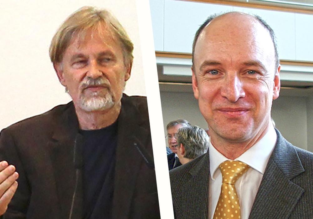 Peter Rosenbaum und Christian Geiger haben durchaus unterschiedliche Sichtweisen. Foto: Archiv