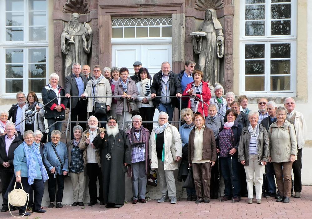 Die Kolpingfamilie besuchte das koptisch-orthodoxe Kloster in Brenkhausen.  Foto: Kolpingfamilie Salzgitter-Bad