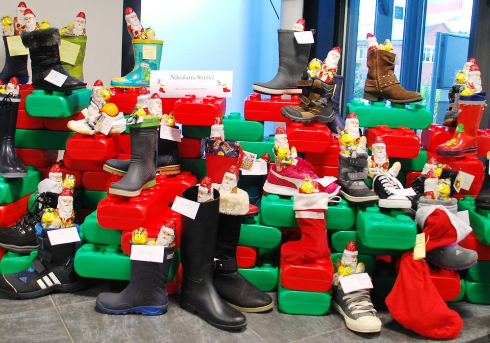 Die Nikolaus-Aktion der GWG fand großen Anklang. Foto: GWG