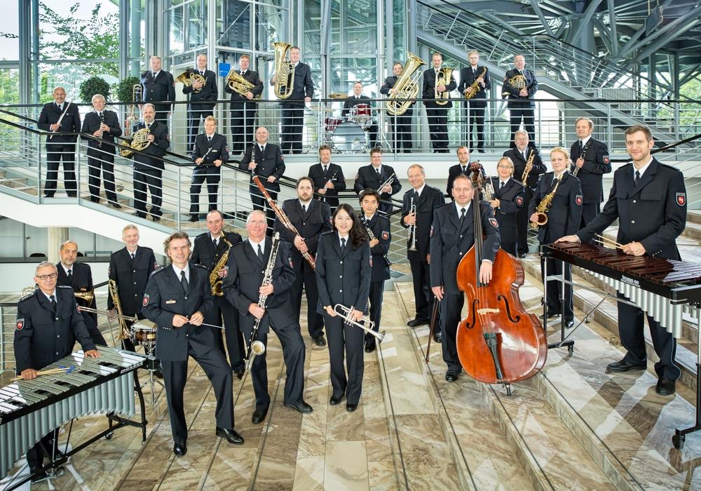 Das Polizeiorchester Niedersachsen gastiert am 17. März in Wittingen. Foto: Polizeiorchester Niedersachsen