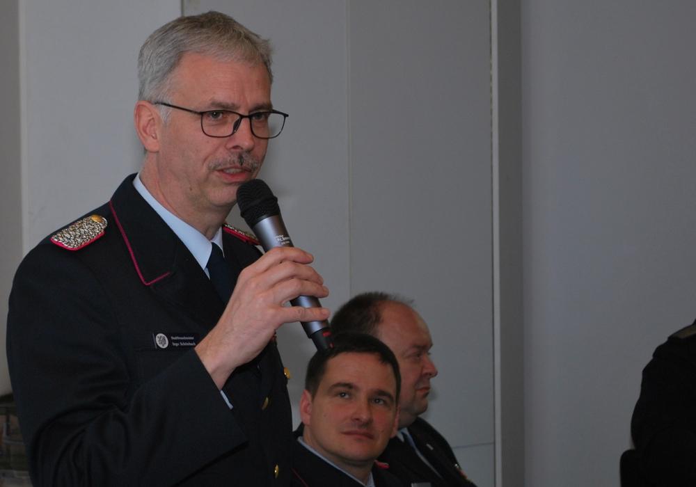 Stadtbrandmeister Ingo Schönbach. Foto: Feuerwehr