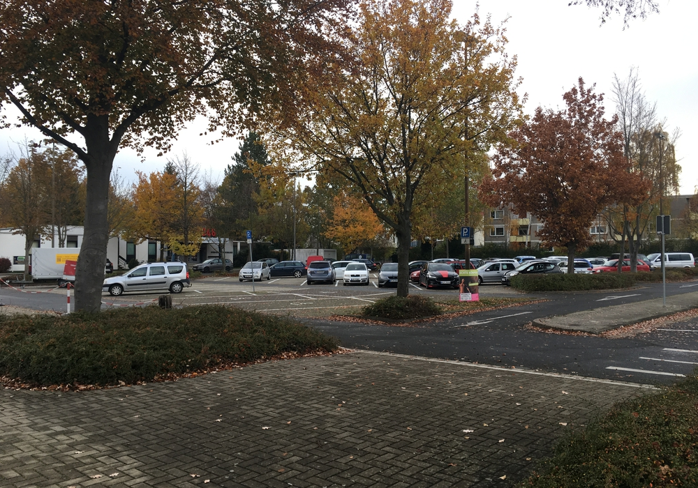 Parkplatz Lindenhalle, Parkdeck, Symbolbild: Julia Seidel