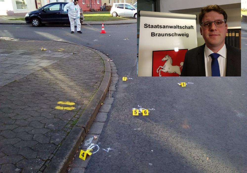 Sascha Rüegg, Sprecher der Staatsanwaltschaft Braunschweig, geht davon aus, dass die Ermittlungen noch einige Zeit andauern werden. Fotos: Werner Heise/Dieter Schneider