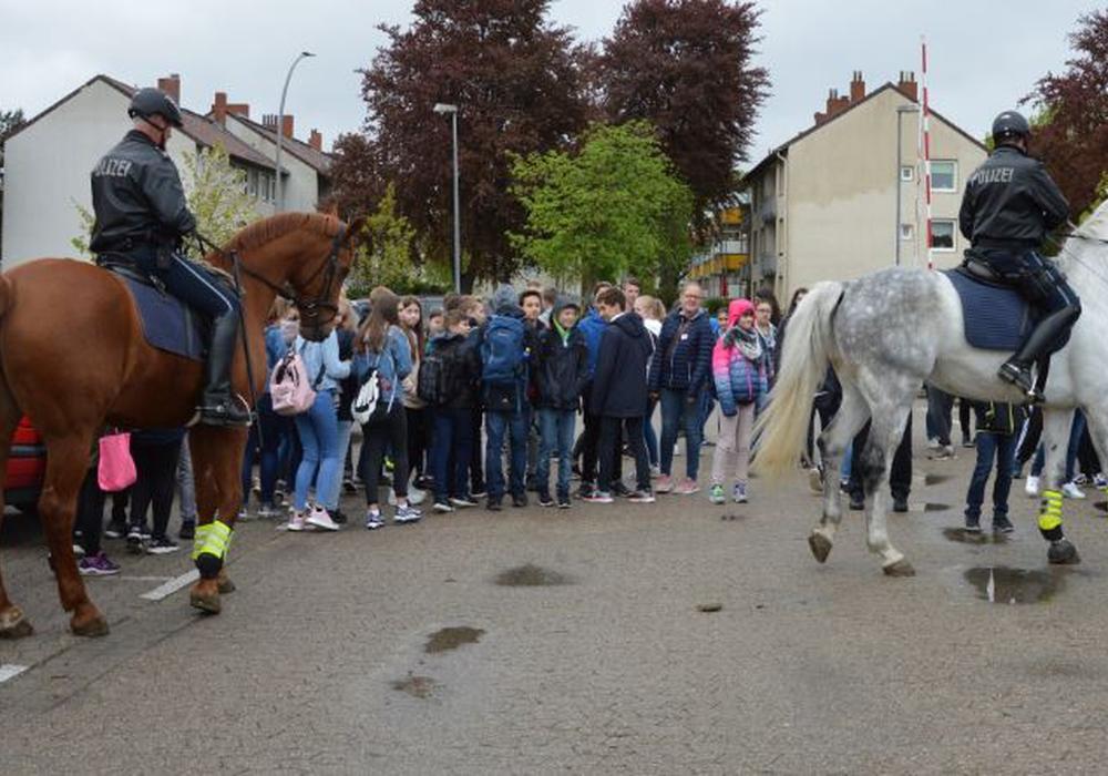 Die Pferdevorführung war einer der Höhepunkte des Tages. Foto: Polizei Salzgitter