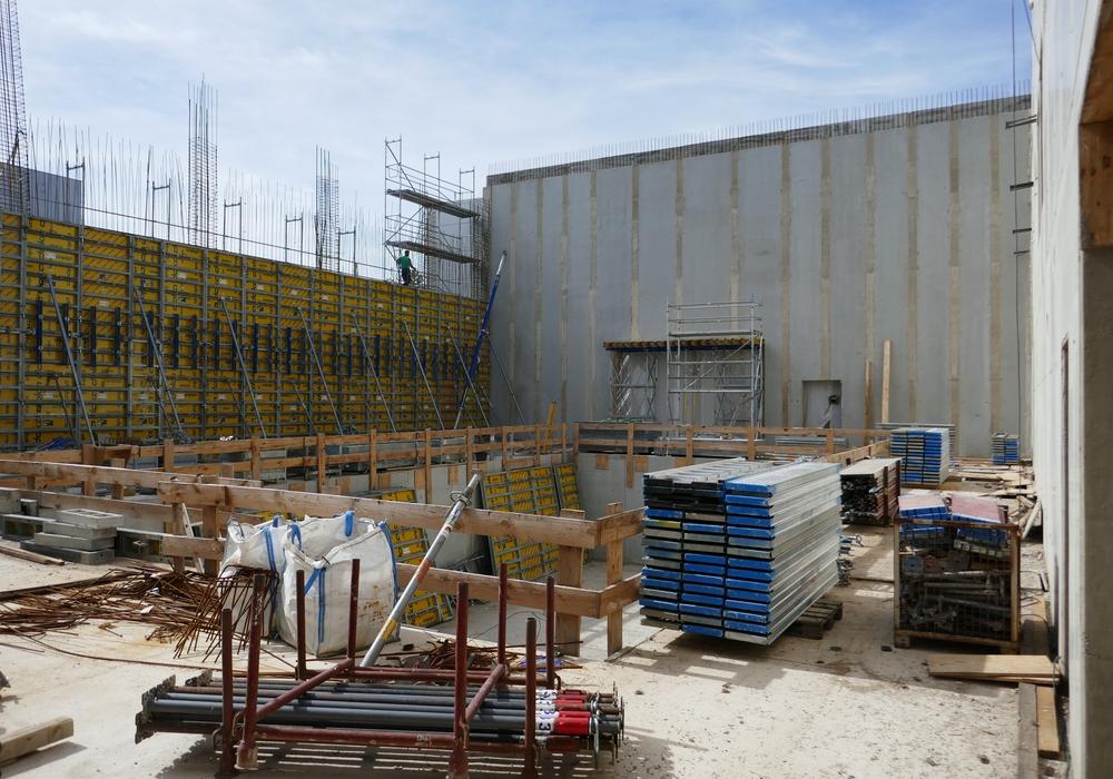 Das SB Braunschweig bietet am 14. Oktober erstmalig allen Bürgerinnen und Bürgern an, ein Bauvorhaben mitten im Bauprozess zu begehen. Foto: Staatliches Baumanagement Braunschweig