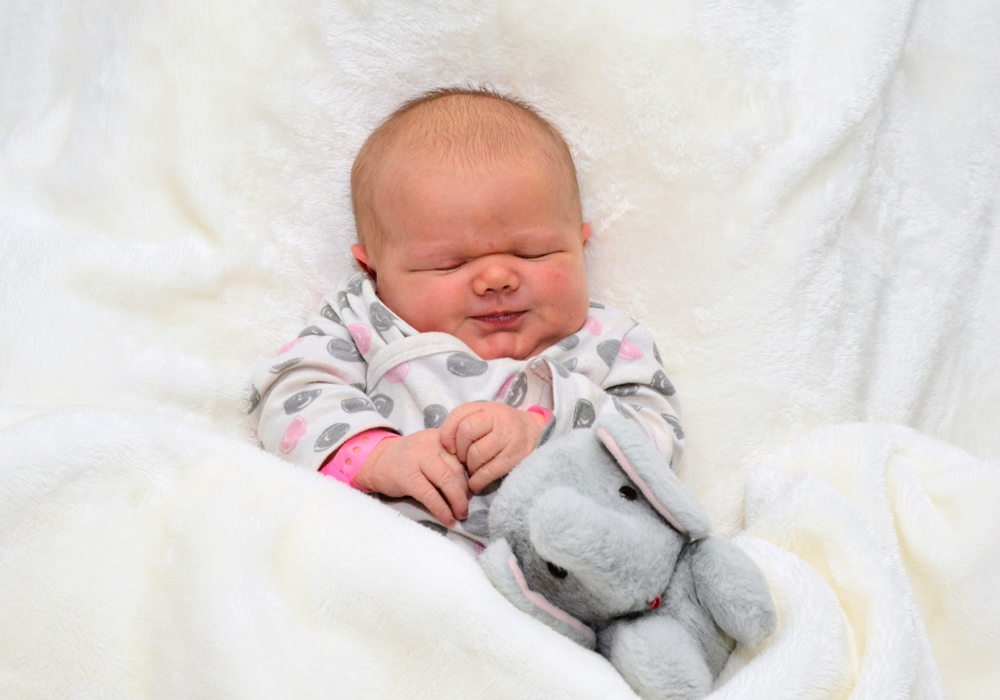 Willkommen, Lilly Sophie Fels. Foto: babysmile24.de