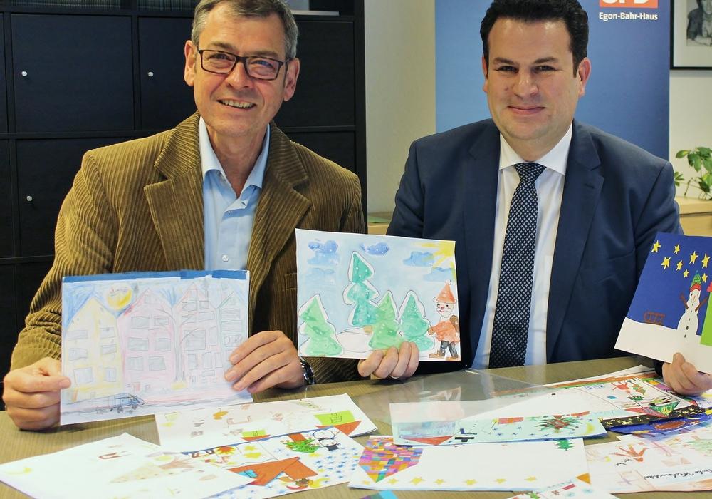 Matthias Möhle (l.) und Hubertus Heil. Foto: Büro Heil